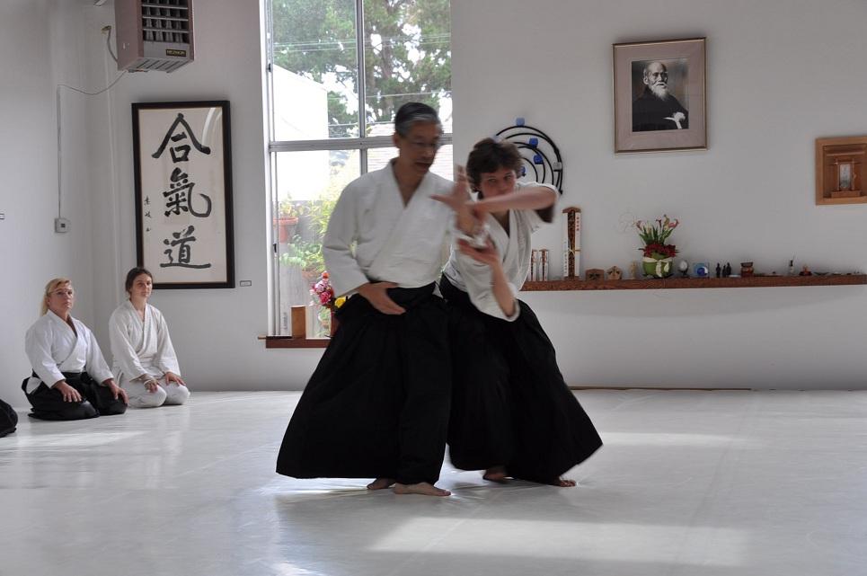 September 28 Seminar with Hoa Newens, 7th Dan