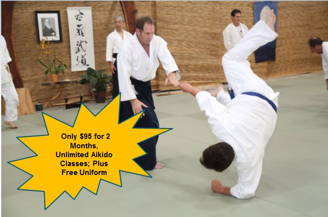 Special Offer: New Aikido Student Special for Adults