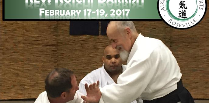 Koichi Barrish Sensei 3rd Annual Seminar (FEB 17-19, 2017)