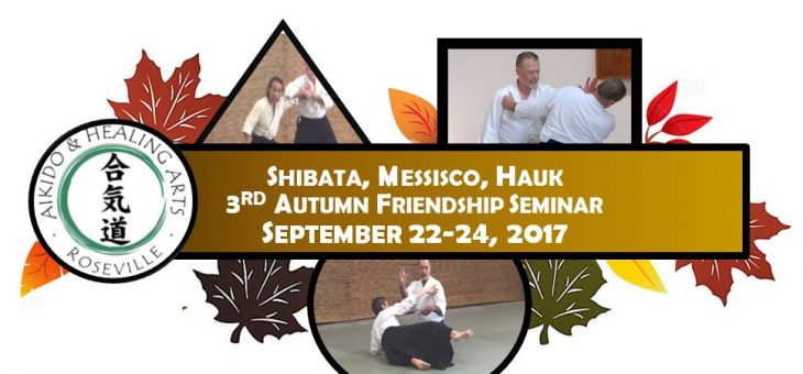 3rd Autumn Aikido Friendship Seminar